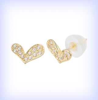 [골드리아] 14K 토토하트 귀걸이